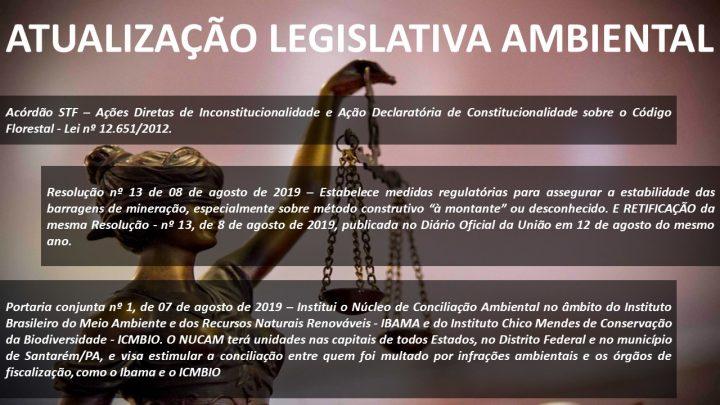 Atualização Legislativa Ambiental