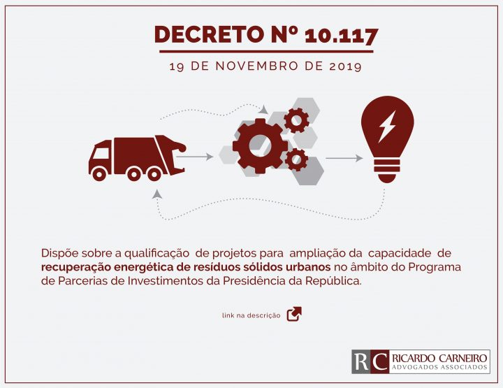 DECRETO Nº 10.117, DE 19 DE NOVEMBRO DE 2019